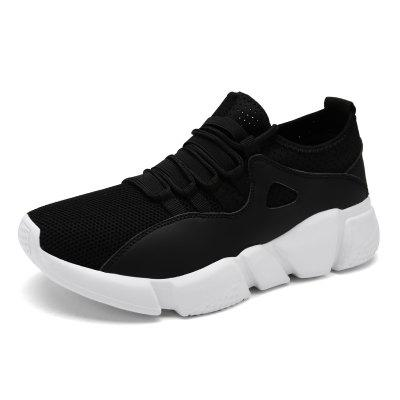 Men Mesh Casual Shoes Lac-up Men Shoes Lightweight Comfortable Breathable Walking Sneakers