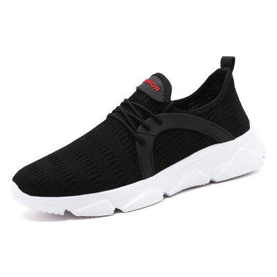 Men Casual Shoes Breathable Sneakers Mesh Sports Shoes Trend Trainers