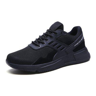Breathable Men Sneakers Shoes Comfortable Non-slip Soft Mesh Walking Shoes
