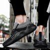 Men Sport Shoes Lace-Up Fashion Mesh Sneakers Running Shoes Casual Shoes