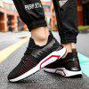 Men Sneakers Breathable Casual No-slip Shoes Fashion Air Mesh Shoes Lace up Sports Shoes