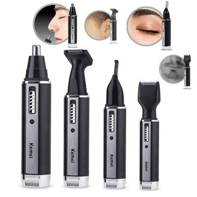 Kemei Fashion Electric Nose Hair Trimmer Cura del viso per naso Trimer