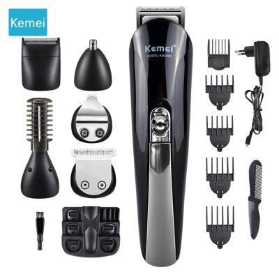 Kemei 11 in 1 Multifunction Hair Clipper professional hair trimmer electric Beard Trimmer