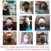 N95 Face mask Fast Shipping Reusable Dust Masks with 10 KN95 Composite Filters PM2.5