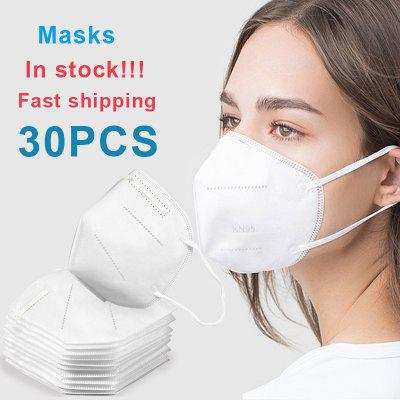 KN95 Mask N95 Masks Disposable Protective Safety Filtration Dustproof Particulate non-Medical