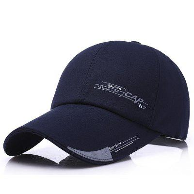 New men middle-aged baseball cap spring sunscreen leisure visor canvas cap
