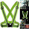 Security Reflective Vest High Visibility Belt Stripe Strap Night Running