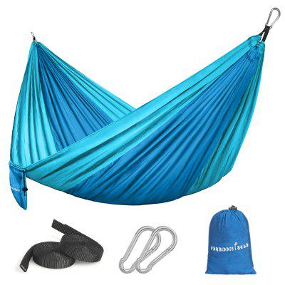 Camping Hammock  2 Person Outdoor Parachute Double Tent Lightweight Travel