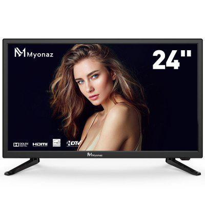 Myonaz TV 24 Inch 1080p HD 60Hz Ultra Slim Flat Electronics Television