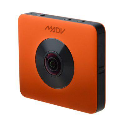 XIAOMI Madv Madventure 7K Photo 4K Video 360 Camera with Waterproof Selfie-Stick and Tripod Image