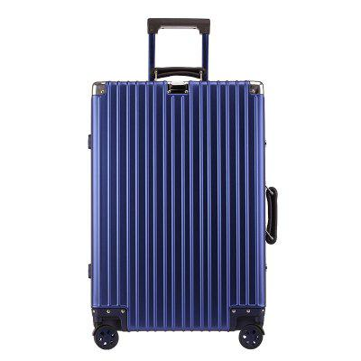 Simon Prince 1802 Aluminum-Magnesium Alloy Travel Suitcase Tie Box With Mute Wheel For Men and Women