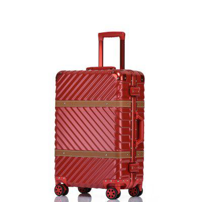 SimonPrince 1618PC Suitcase with Rod Box with Mute Wheel for Men And Women