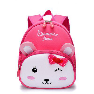 Championber 2003 Tiger Rabbit Children Schoolbag with Shoulder Backpack for Boys And Girls