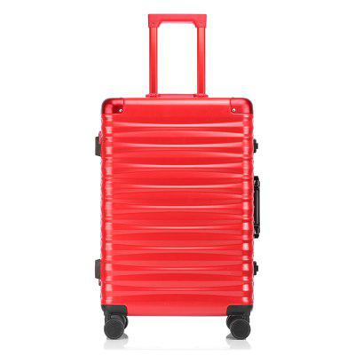 Simon Prince 855 Silent Wheel Aluminum Frame Travel Luggage with Customs Lock for Men and Women