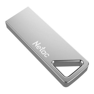 Netac U326 USB 2.0 Aluninum Alloy Flash Disk 16GB 32GB Metal Keyhole