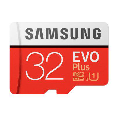 Carte mémoire d'origine SAMSUNG EVO Plus 32 Go Cartes SDHC Class10 Micro C10 U3 TF Trans Flash SDXC