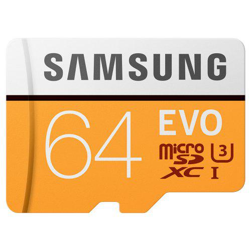 Original SAMSUNG EVO Memory Card 64GB U3 4K Class10 Micro SD Card 32GB microSD UHS-I TF Card 128GB