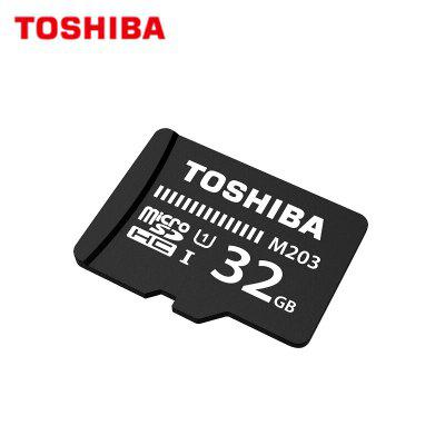 Original TOSHIBA Flash Card M203  Micro SD Card UHS_I  32GB SDHC 64GB 128GB SDXC