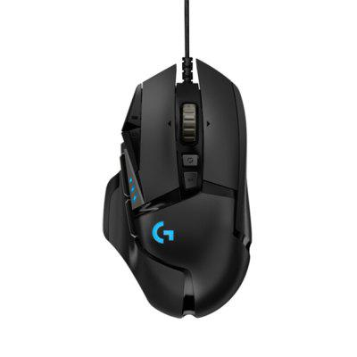 Original Logitech G502 Hero master game mouse Full line upgrade Hero engine 16000DPI RGB glare