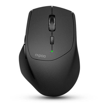 Original  Rapoo MT550 Multi-mode Wireless Mouse Switch between Bluetooth 3.0 4.0 and 2.4G