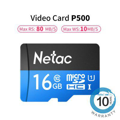 Netac P500 High Speed U1 TF Micro SD Memory Card 16GB 32GB  64GB  128GB