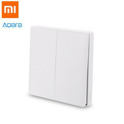Xiaomi Aqara WXKG02LM Smart Light Switch Wireless Version Double Key
