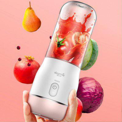 Deerma Rechargeable Electric Portable Juicer Fruit Vegetable Juice Mixer