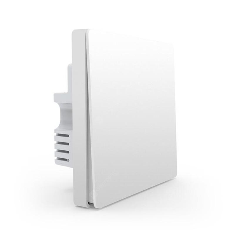 Aqara Wall Switch Light Switch ZigBee Version Single Fire Zero Fire Wireless Switch APP Control
