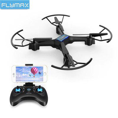 Flymax 2 WiFi Quadcopter 2.4G WIFI FPV Streaming Drone With Wide Angle HD Camera RC Quadcopter Drone