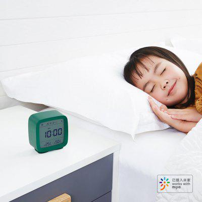 Mini Multifunction Bluetooth Alarm Clock Temperature Humidity Monitor Night Light from Xiaomi youpin