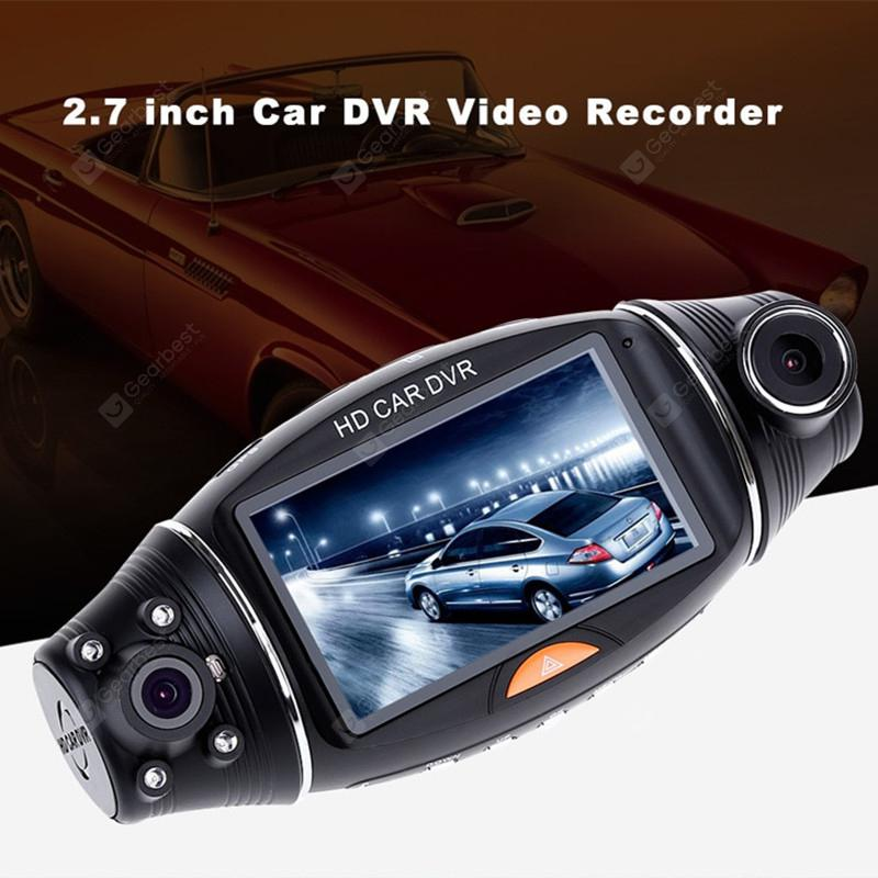 R310 Full HD Dual Lens Car DVR Camera Dash Cam Video Recorder Night Vision 2.7/""