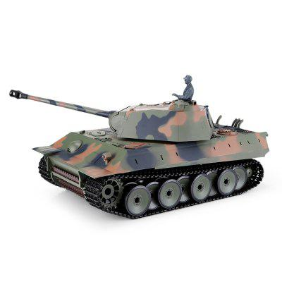 Henglong 1 16 Remote Control Trucks Main Battle Tank Toy Gift Sound light effects
