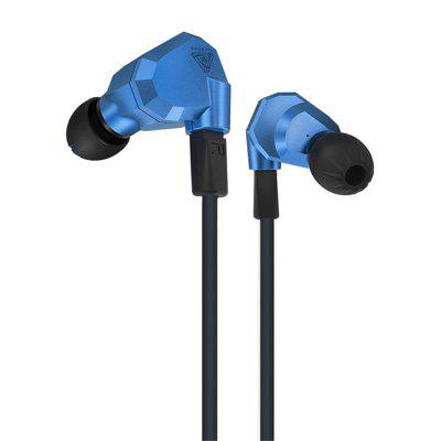 KZ ZS5 HiFi In-ear Removable Music Earphones 1