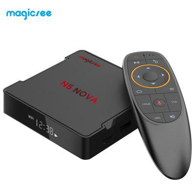 MAGICSEE N5 NO - VA 4K TV Set-top Box 64 Bits 4GB RAM 64GB ROM Dual-band WiFi Voice Control