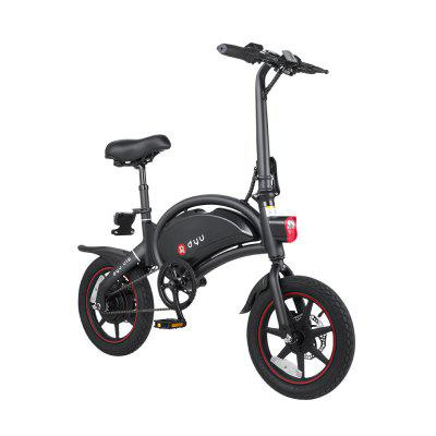 DYU D3PLUS Electric Bike E-Bike 36V10AH Lithium Battery Motor Smart Electric Bicycle Image