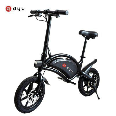 DYU D3F Electric Bike 36V 10AH Battery Aluminum Alloy Smart Folding Electric Bicycle Moped Bicycle