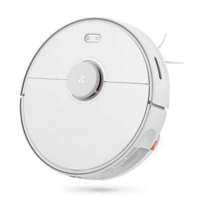 Roborock S5 Max Laser Navigation Robot Vacuum Cleaner with Large Capacity Water Tank Off-limit Area Setting AI Recharge from Xiaomi youpin