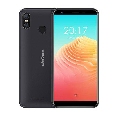 Ulefone S9 Pro 4G Phablet 5.5 inch Android 8.1 MTK6739 Quad Core 1.3GHz 2GB RAM 16GB ROM 13.0MP + 5.0MP Rear Camera Fingerprint Sensor