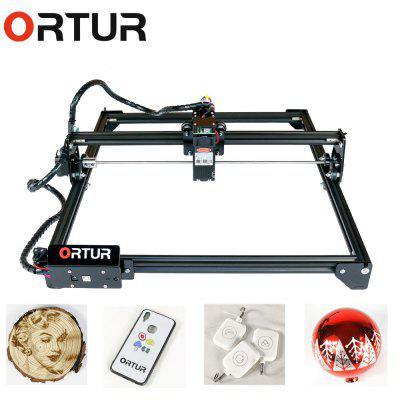 ORTUR Laser Master 2 Laser Engraving Cutting Machine With 32-bit Motherboard 400 x 430mm Large Engraving Area Fast Speed High Precision Laser Engraver