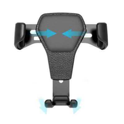 Universal Gravity Air Vent Car Mount Mobile Phone Grip Holder Stand for iPhone 12 / 11 Huawei Smartphones