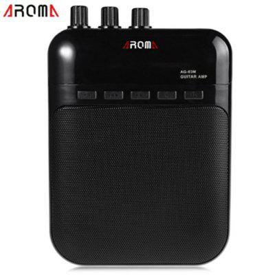 AROMA AG-03M Portable Charging 3W Mini Guitar Amplifier