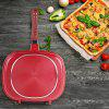 Double-Sided Frying Pan Non-Stick Barbecue Cooking Tool Stable Durable And Reliable Cookware