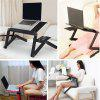 Adjustable Computer Desk Table Folding Laptop Notebook Stand Bed Tray Aluminum Alloy Anti-Skid Table