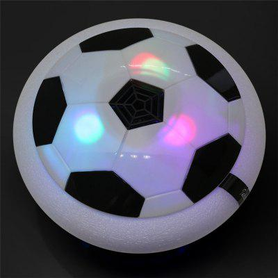 Air Power Soccer Disc LED Lights Electric Gliding Floating Football Indoor Outdoor Soccer Game Toy