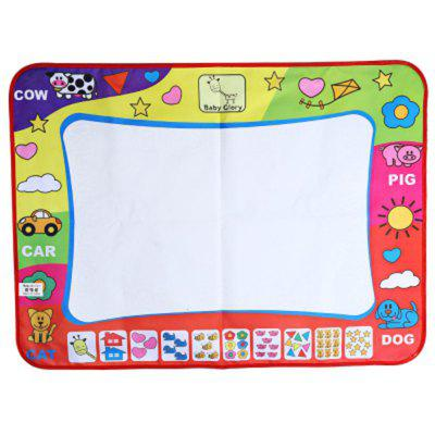 Children Doodle Drawing Toys 1 Painting Mat 2 Water Drawing Pen