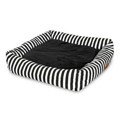 Soft Pet Square Cushion Nest Mat Teddy Puppy Bed House
