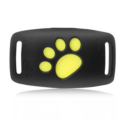 Pet Tracker GPS Dog Cat Collar GPS Tracking Waterproof USB Charging