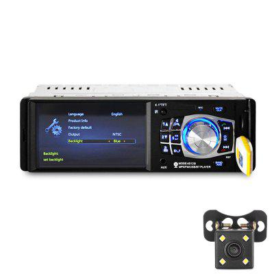 4.1 inch Car MP5 Bluetooth FM Radio Multimedia Player Stereo Audio Video Rear Camera Remote Control