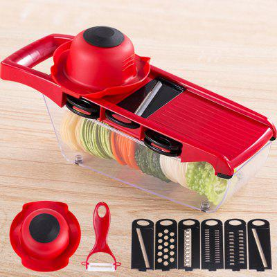 Multifunctional Potato Slicer Vegetable Fruit Cutter Kitchen Magic Tool