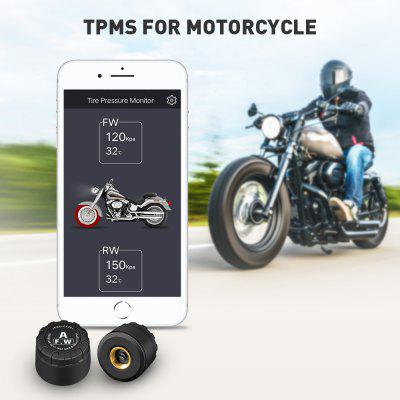 ZEEPIN C130 Bluetooth Tire Pressure Monitoring System for Motorcycle